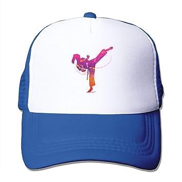 Aeykis Chica de Karate Unisex Ajustable Malla Gorras de béisbol ...