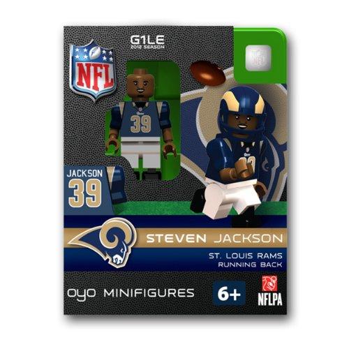 NFL St. Louis Rams Steven Jackson Figurine by Oyo Sportstoys
