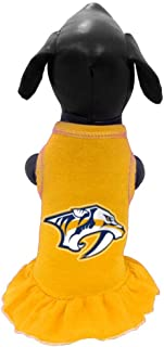 product image for All Star Dogs NHL Unisex NHL Nashville Predators Dog Cheerleader Dress