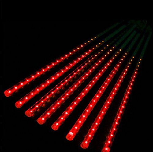 Led Icicle Lights Red Green in US - 8
