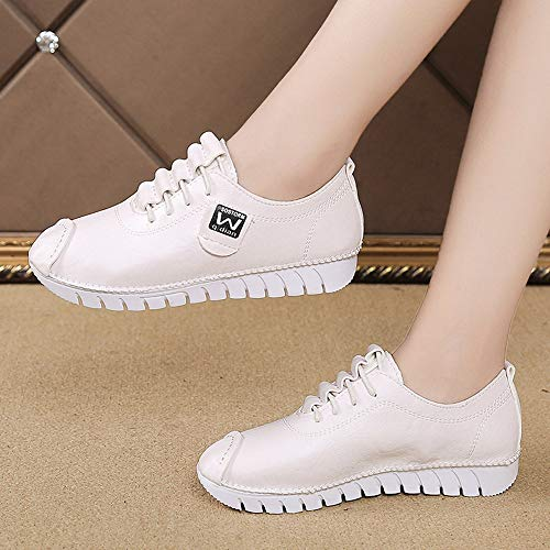 Invernale Elegante Con Moda Stivali Scamosciato Comode Bianco Stivaletti Tacco 4 Givekoiu Ankle Boots Chelsea Blocco Bassi Donna 5cm pgzEqWXx
