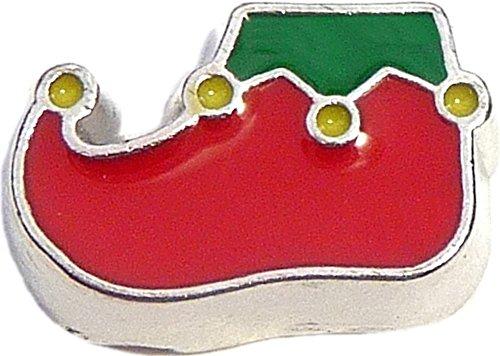 Elf Shoe Floating Locket Charm -