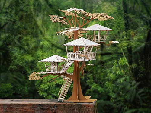 Cut Laser Roof (Super Deluxe Tree House Model Kit, 17