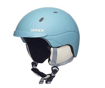 Sinner Titan - Casco de esquí para Mujer, Color Azul, Talla M (58