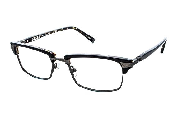 Amazon.com: John Varvatos Men\'s Eyeglasses V145 V/145 Black Tortoise ...