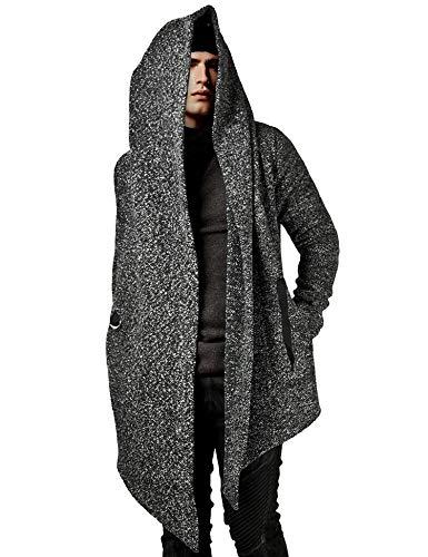 Daupanzees Men's Fashion Long Hooded Out...