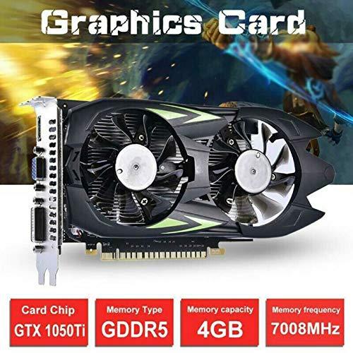 Alextry GTX 1050 Ti 4G DDR5 - Tarjeta gráfica: Amazon.es ...