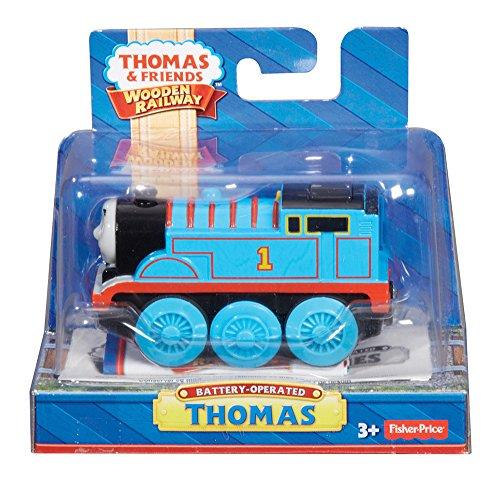 Mattel Fisher-Price Y4110 - Thomas und seine Freunde Lokomotive Thomas, batteriebetrieben