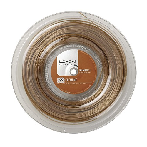 Luxilon Reels - Luxilon-Element Tennis String Reel Bronze-(887768269586)