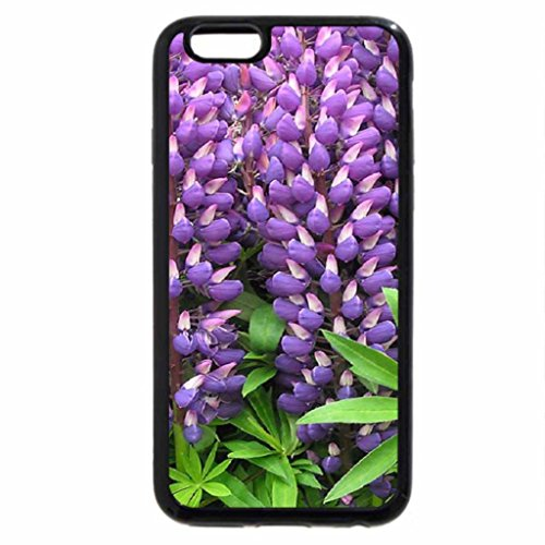 iPhone 6S / iPhone 6 Case (Black) RIVERSIDE LUPINS
