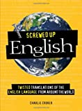 Screwed up English, Charlie Croker, 1598695126