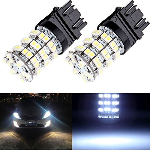 OCPTY 3157 3057 3457 4157 60-3528-SMD LED Light bulbs Replacement fit for Front and Rear Turn Signal Light,2 Pack Xenon White Buick Century Turn Signal Light