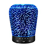 Kyпить Aromatherapy Oil Diffuser, SZTROKIA 180ml Essential Oil Ultrasonic Cool Mist Humidifier with 3D 14 Color Changing Starburst LED lights на Amazon.com
