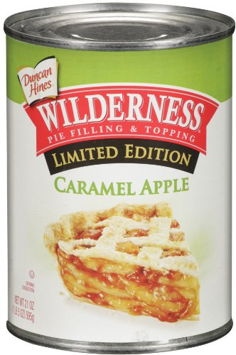 Wilderness Caramel Apple Pie Filling and Topping, 21-Ounce (Pack of 6) by Wilderness