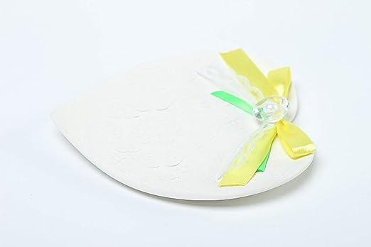 Plato porta alianzas hecho a mano regalo original accesorio para boda estiloso: Amazon.es: Hogar
