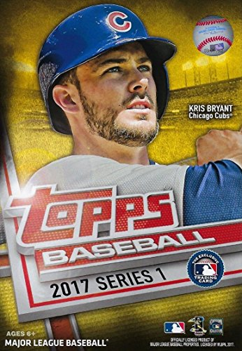 2017 Topps Baseball Factory Sealed Series One Hanger Box with 72 Cards per box and Possible Autos, Game Used Relic cards and more