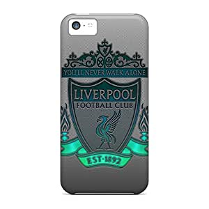 New Arrival Cases Specially Design For Iphone 5c (liverpool Logo)