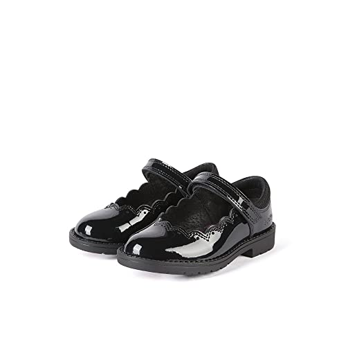 beb99a61301d Kickers Baby Girls  Lachly Patent Mary Jane Ballet Flats  Amazon.co ...
