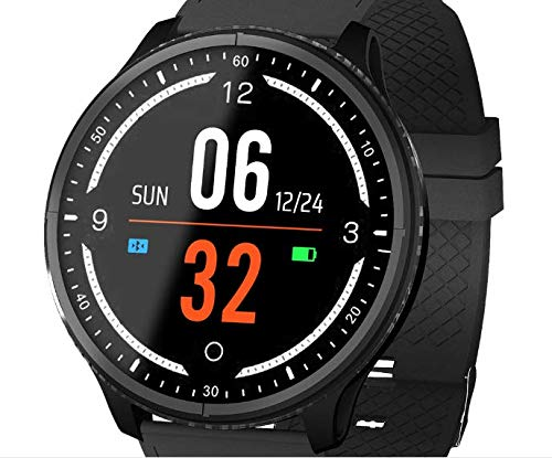 Amazon.com: BOND P69 Full Round Color Screen Smart Watch ...