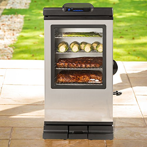 Masterbuilt 20072115 Bluetooth Smart Digital Electric Smoker, 30-Inch by Masterbuilt (Image #1)