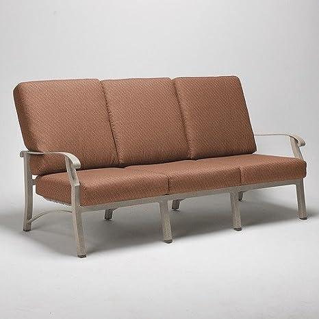 Amazon.com: Cortland sofá con cojines acabado: Midnight ...