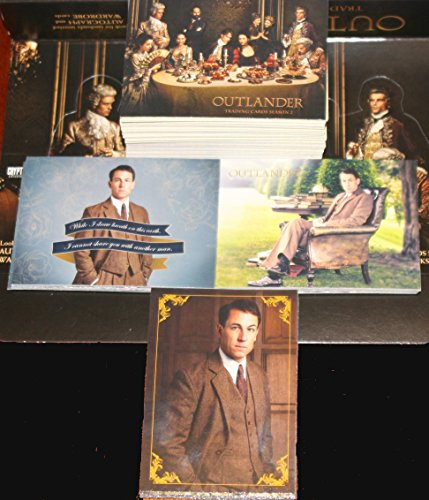 2017 Outlander Season 2 Trading Cards 99-Card Set