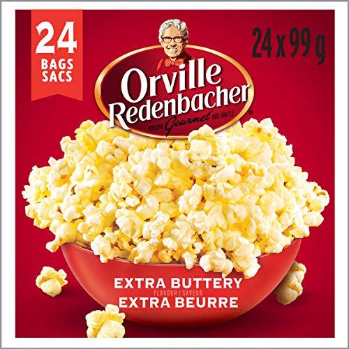 6befc9dbb0f42 Orville Redenbacher Popcorn - Microwave Extra Buttery (24 Pack with 24 bags  total)