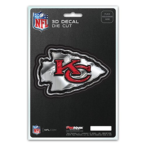 (Team ProMark NFL Kansas City Chiefs 3-D Decal)