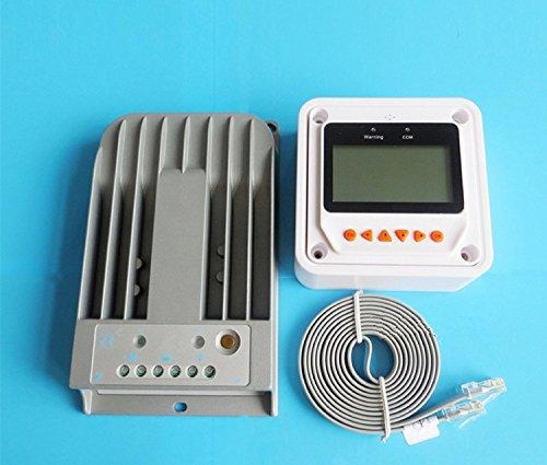 GOWE 20A 12 V, 24 V, 20 A, programmierbare MPPT-Solar-Laderegler (mit LCD-display, Fernbedienung, M