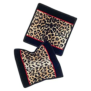 Feiler Safari Chenille Towel - Black and Brown