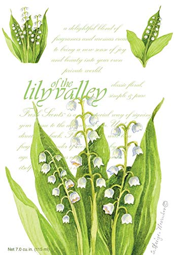 Fresh Scents Scented Sachets - Lily of the Valley, Lot of 18 by Fresh Scents