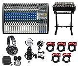 usb digital mixer - PRESONUS StudioLive AR22 USB Hybrid Digital/Analog Mixer+Headphones+Stand+Mic