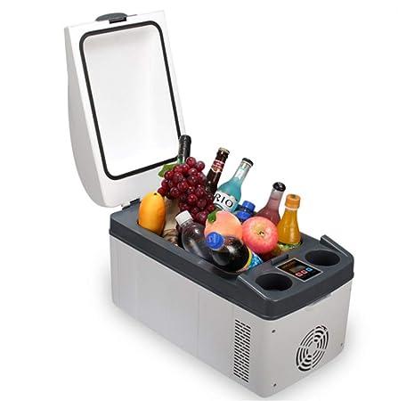LQFLD Mini Nevera,Refrigerador portátil de 20 litros, congelador ...