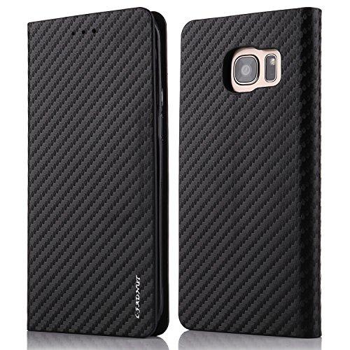 tanxainewiduixi Samsung, Kunstleder, schwarz, Samsung Galaxy S6