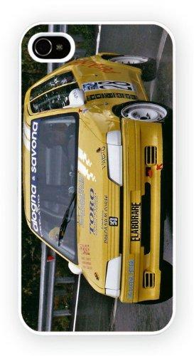 Peugeot 106 Rallye, iPhone 4 4S, Etui de téléphone mobile - encre brillant impression