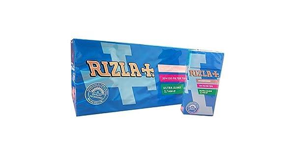 Amazon.com: 2400 Rizla ultra slim – 20 Paquete de Filtros de ...