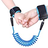 Image of Sungrace 8.2 feet Baby Child Anti Lost Safety Velcro Wrist Link (Blue, 2.5m)