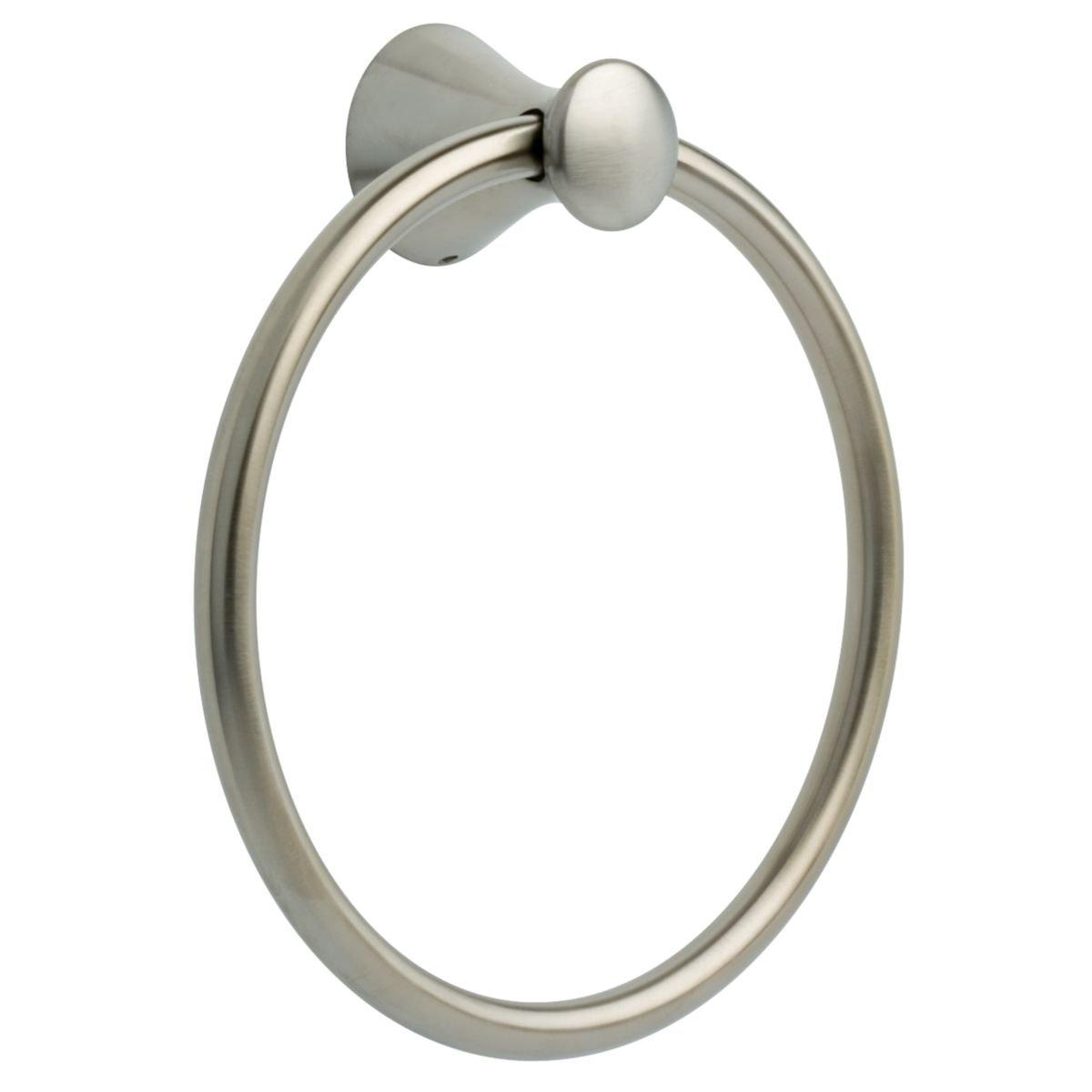 Franklin Brass Bath Accessories 139572 Somerset Bathroom Sets, Hand Towel Ring, Satin Nickel