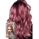 SoftSub Smokey Pink 80 ml, Revolutionary Hair color cream,Permanent Pink hair color, Fuchsia Hair dye, Highlights