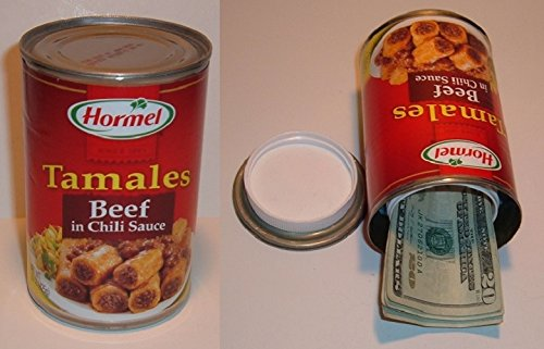 Hormel Beef Tamales Diversion Can Safe stash hide cash jewelry box Piggy Bank