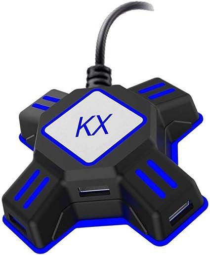 Flushzing Reemplazo de Teclado Xbox One PS4 Playstation 4 Consola PS3 ratón del convertidor del Adaptador del Juego Accesorios: Amazon.es: Hogar