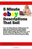 5 Minute Ebay Descriptions That Sell, Robert Boduch, 0981180736