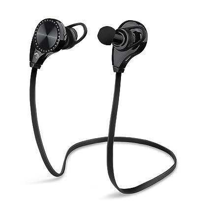 Auriculares Deportes, JINCHAO Bluetooth 4.0 Sport Inalámbrico headphone In Ear Estéreo con Micrófono para Apple