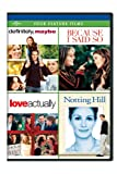 DVD : Definitely, Maybe / Because I Said So / Love Actually / Notting Hill Four Feature Films