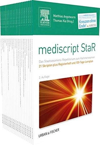 mediscript StaR Skripten-Paket Hammerexamen mit Registerheft: Inklusive AMBOSS 6-Monats-Upgrade