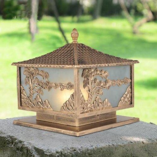WWJ/ European pillar lamp/lamp/water garden lights/wall lights/wall lights/outdoor outdoor garden lawn door lights , small by KAIXINJIUHAO