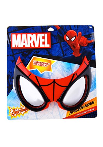 Officially Licensed Spiderman Sunstaches