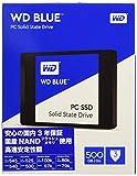 """WD Blue 500GB Internal SSD - SATA III 6 Gb/s, 2.5""""/7mm - WDS500G1B0A"""