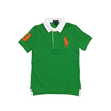 Polo Ralph Lauren Boys camiseta de malla Big Pony (algodón ...