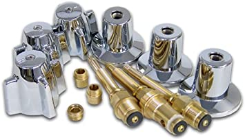 kissler rbk2823 central brass shower valve rebuild kit - Shower Valves